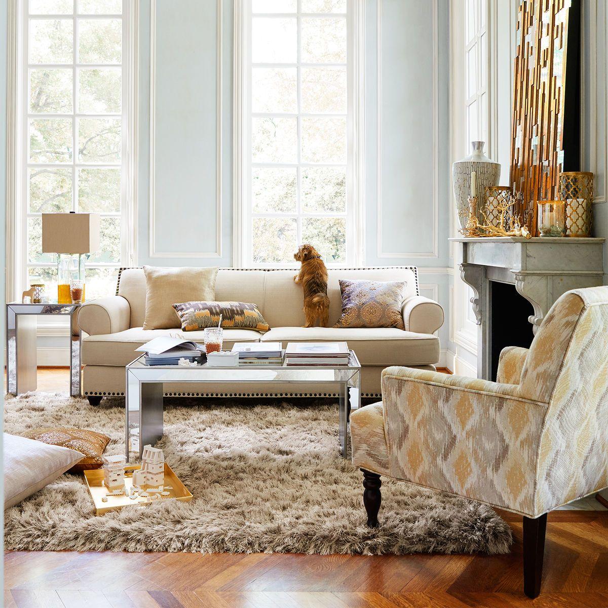 Grand Champagne Shag Rug | Shag rugs, Grand champagne and Spaces