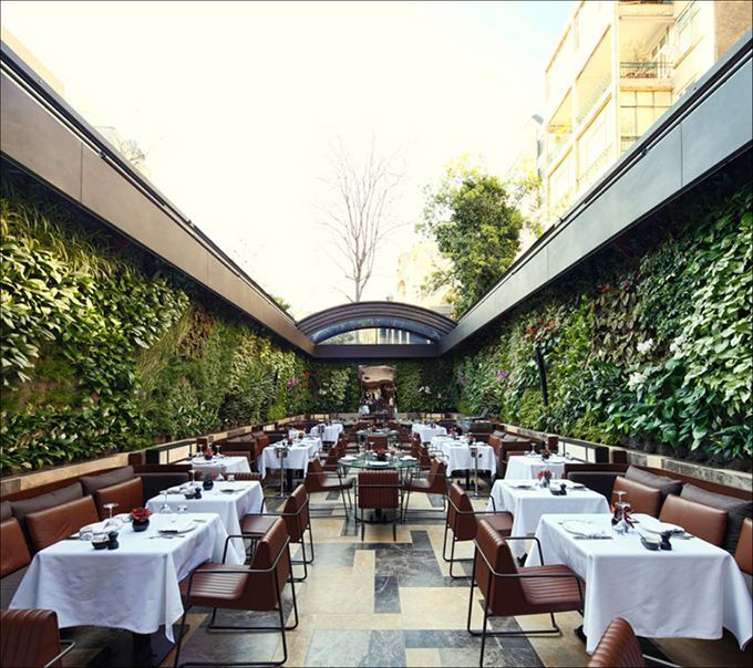 Nopa Restaurant Istanbul Turkey The Cool Hunter The Cool Hunter Outdoor Restaurant Restaurant Patio Bar Design Restaurant
