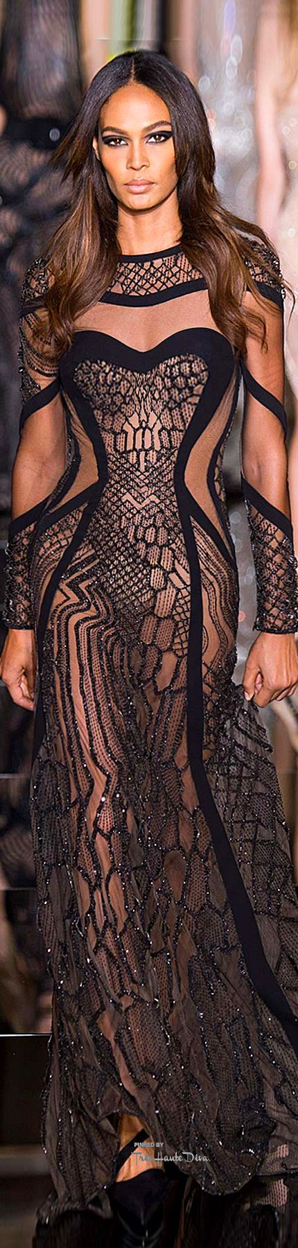 Atelier Versace Spring 2015 Couture ♔THD♔