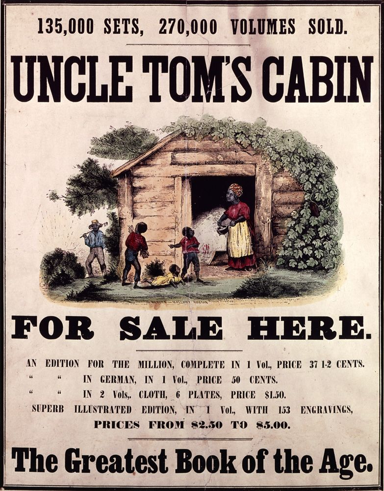 uncle tom s cabin by harriet beecher stowe is   20 1852 uncle tom s cabin by harriet beecher stowe is first