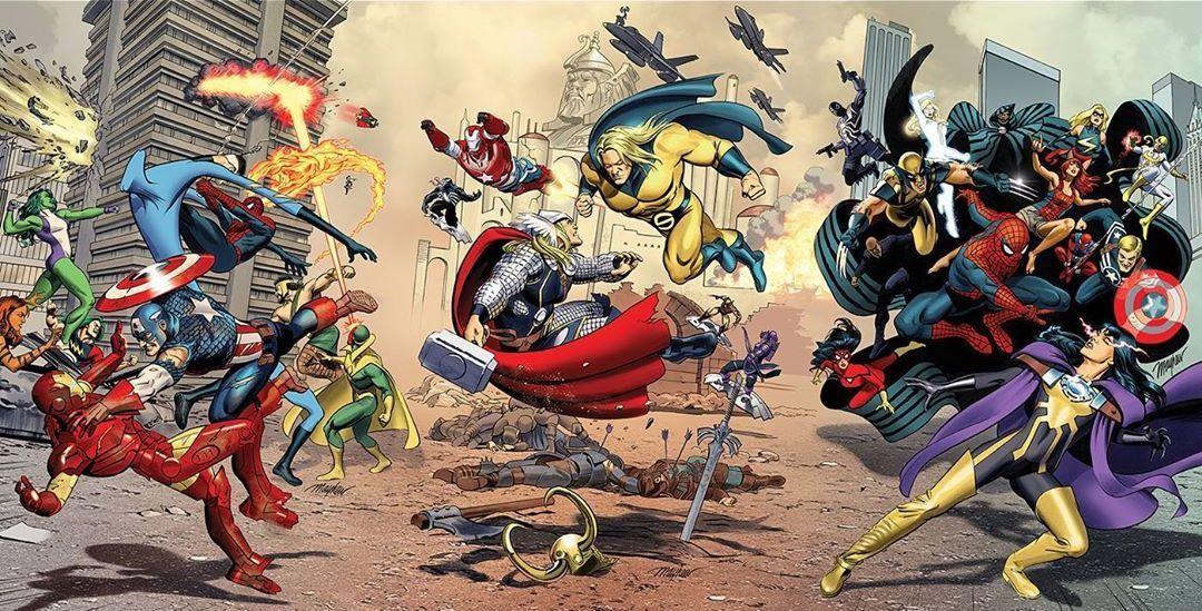 Secret Wars Civil War 1 Secret Wars Siege 1 and Secret