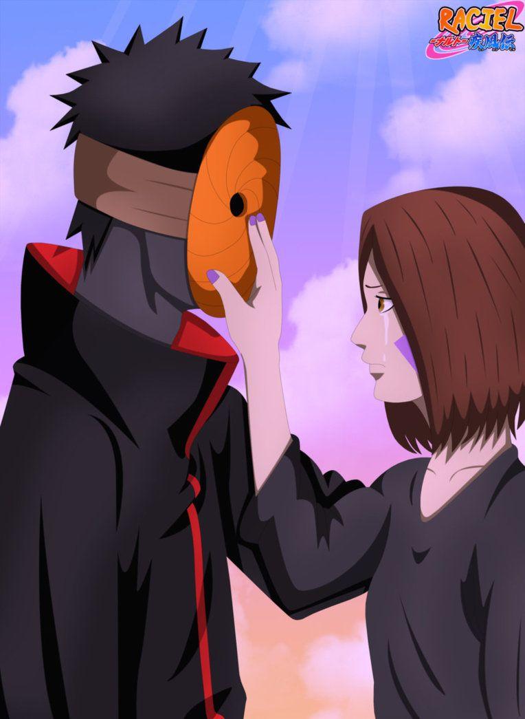 Rin And Obito Obito And Rin By Sharineganleicar On Deviantart Naruto Wallpaper Naruto Art Rin