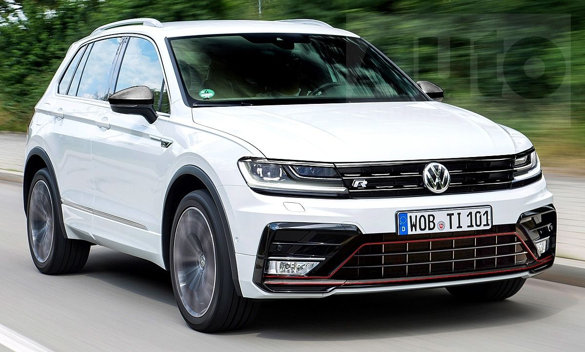 Vw Tiguan 2021 Auto Show Volkswagen Tdi Tiguan R