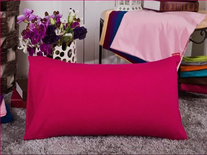 45*72cm solid pillowcase, pillow cover, pillow case, color optional