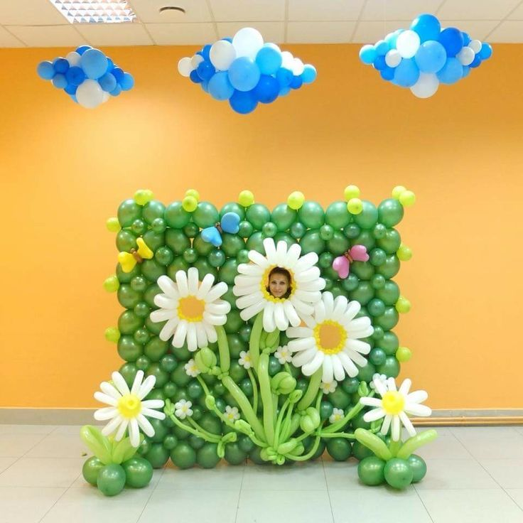 Cute Wall Balloons Decoration Ideas - Wall Art Design ...