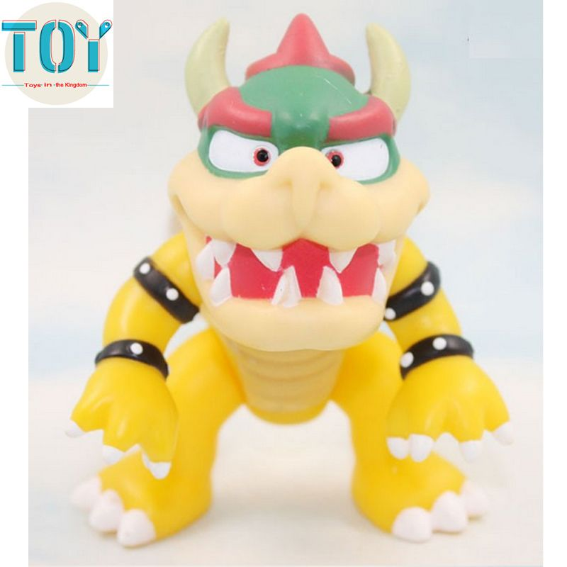 """Bowser PVC Toy koopa  Action Figure 4/"""" Gift New Super Mario Brothers Bros"""