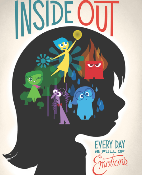 Mickey And Company Disney Posters Inside Out Emotions Pixar Movies