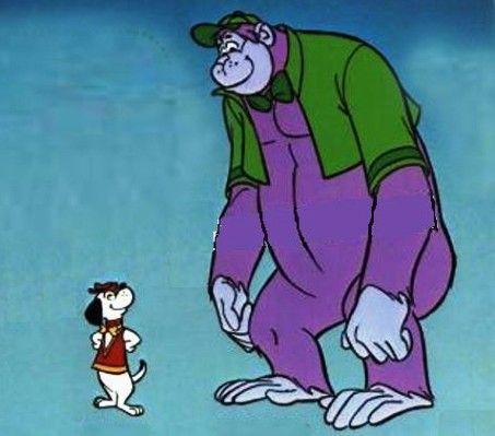 Grape Ape and Beegle Beagle Animated Cartoons