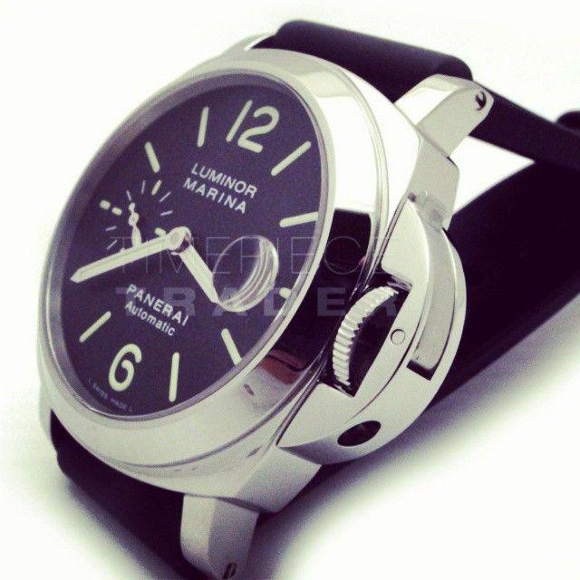 timepiecetrader:  #Panerai #Luminor #Marina PAM104 => If interested call 561247-0078 or visit www.timepiecetrader.com
