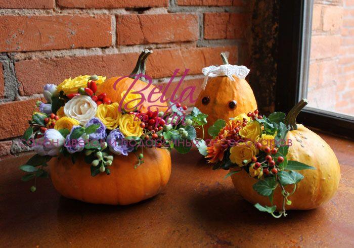 #halloween #beauty #flowers #bellalavita #pumpkin #holiday #emotions #decoration…
