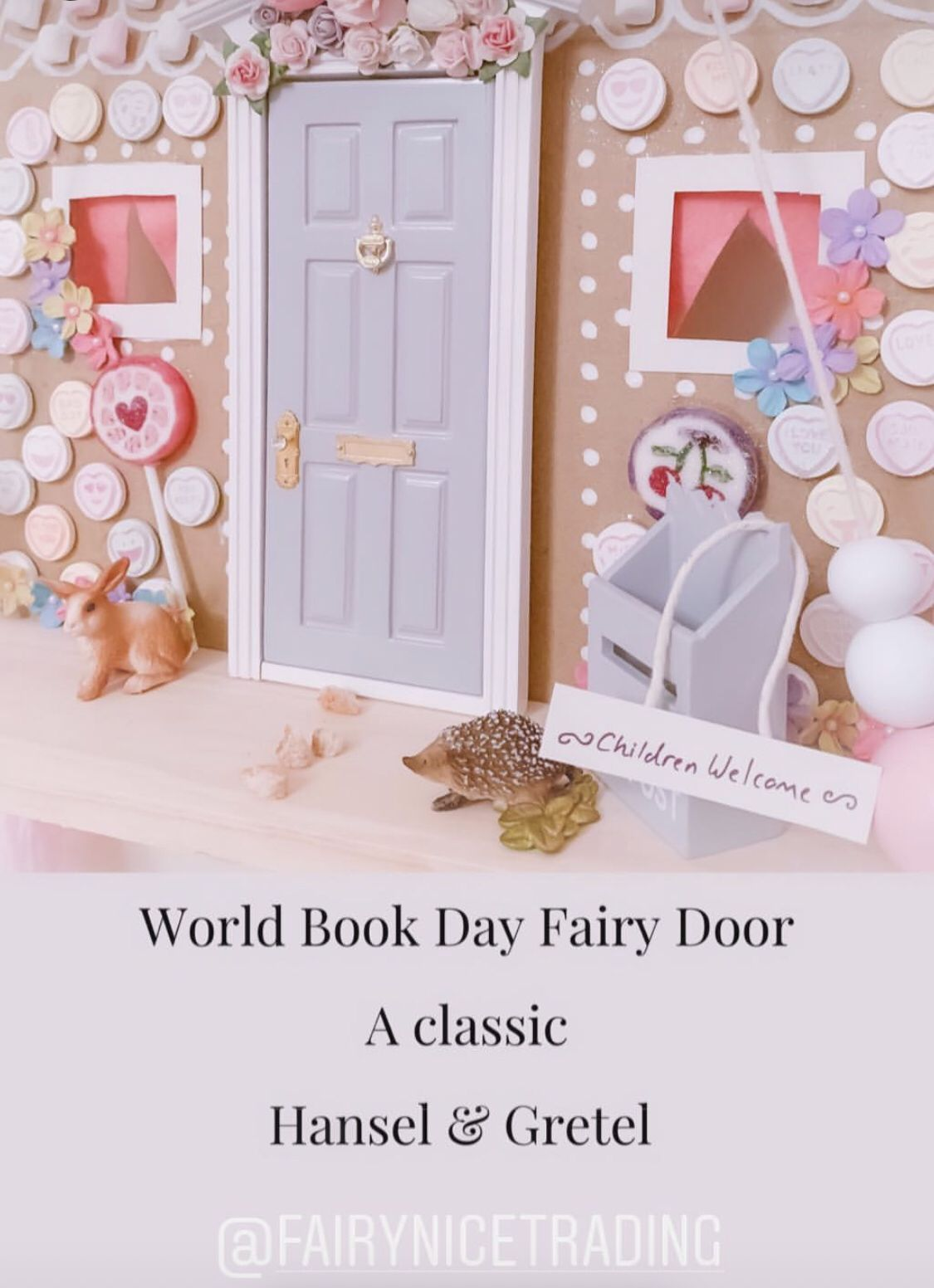 Customer Photos World Book Day Fairy Door Accessories Fairy Doors Customer Photos