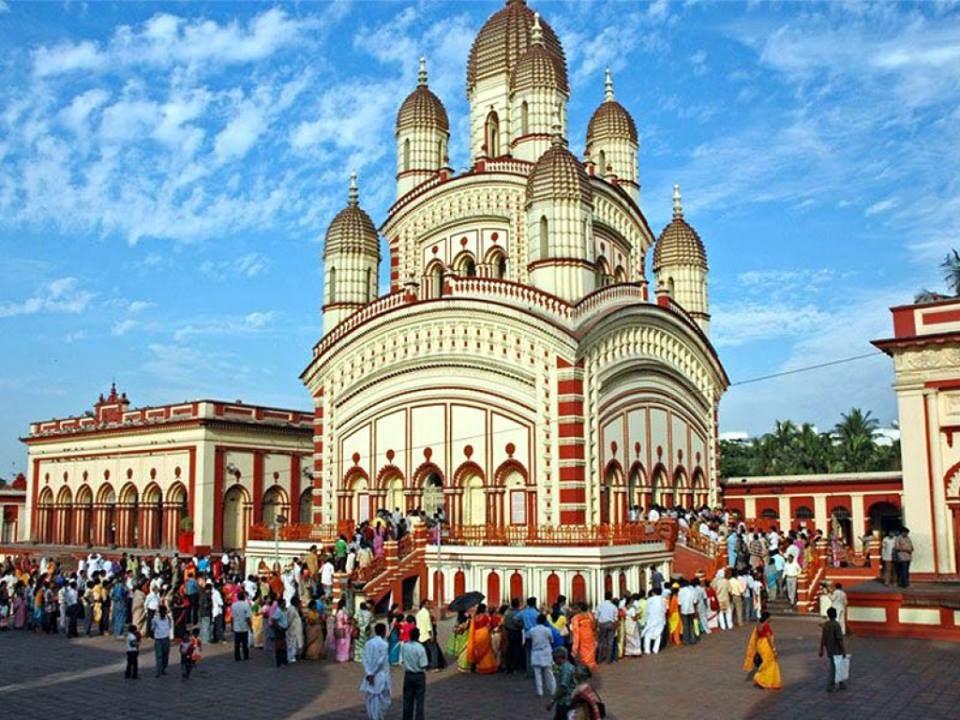 Dakshineswar Kali Temple in Calcutta/Kolkata, India
