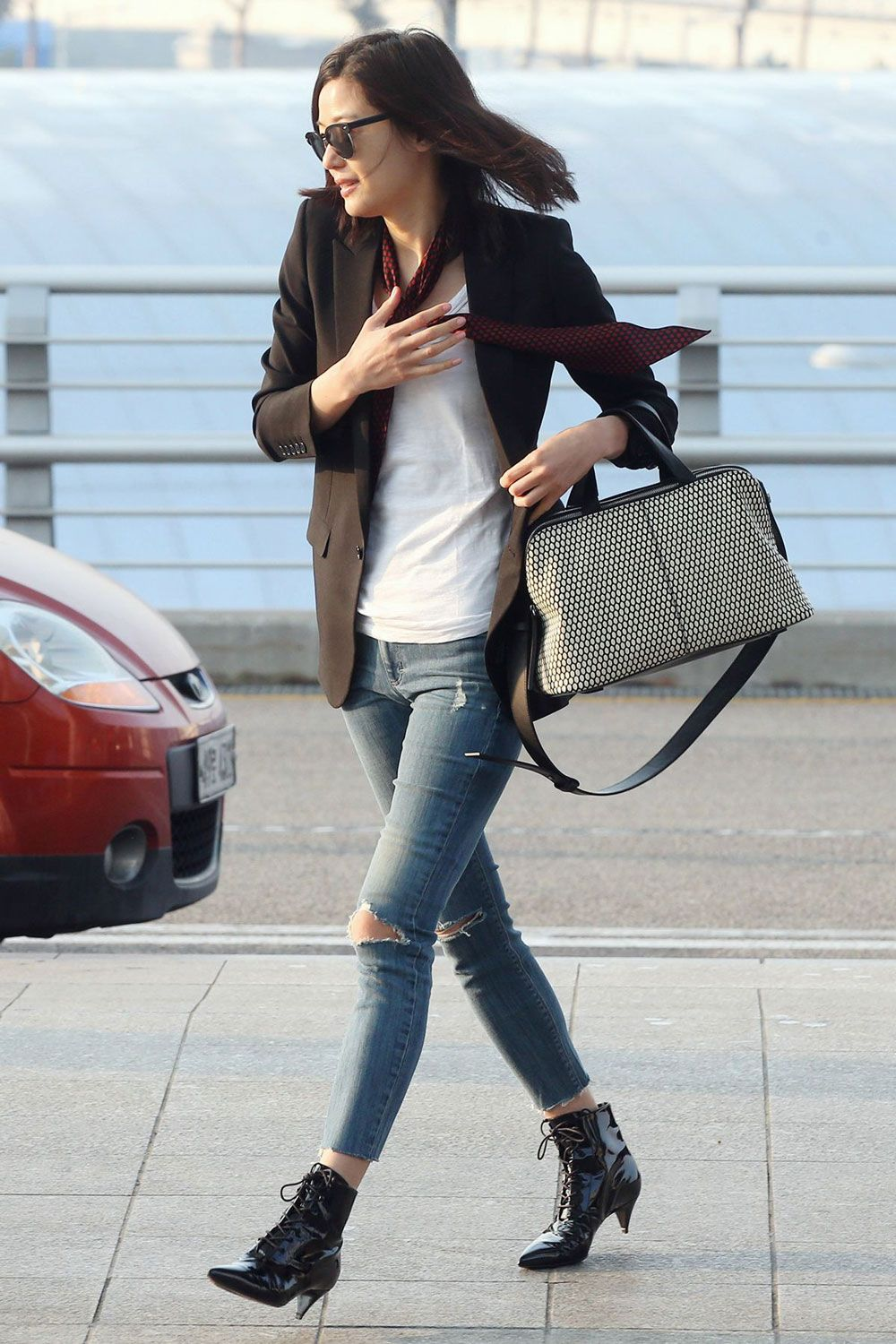 25 best airport style winter outfits ... - fashion-women.com