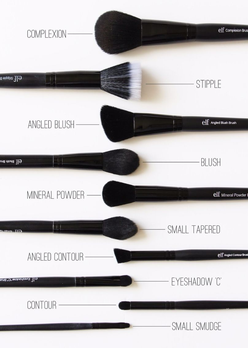 how to clean elf makeup brushes