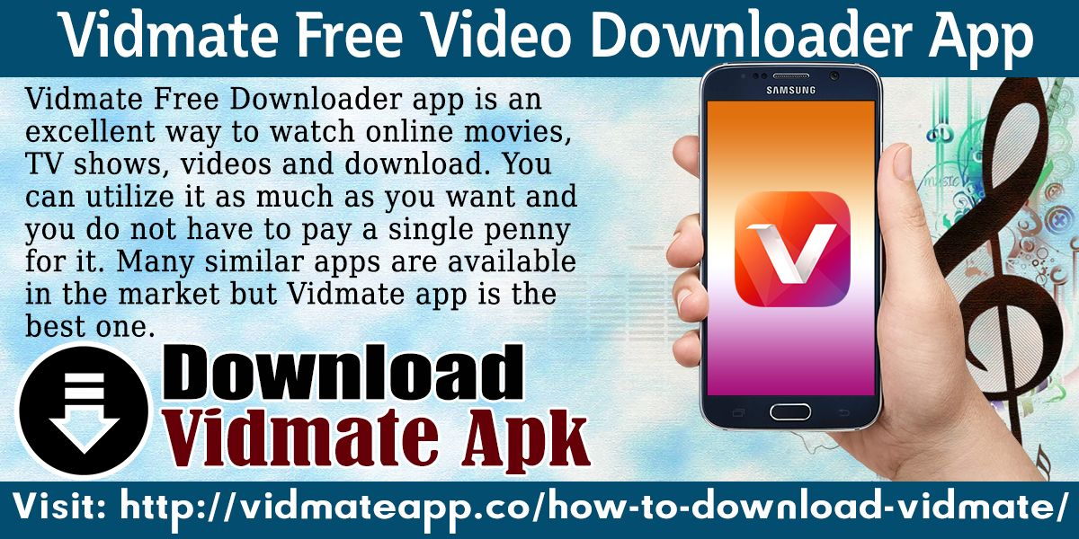 Vidmate Free Downloader app is an excellent way to watch online