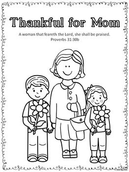 Mother's Day Bible Lessons for May, Complete Unit for