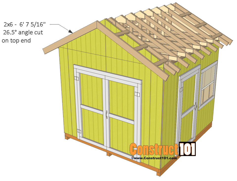 Shed Plans 10x10 Gable Shed Construct101 10x10 Shed Plans Shed Plans Diy Storage Shed Plans