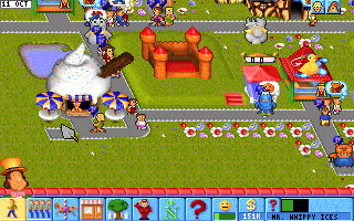 Theme Park | Old MS-DOS Games | Download for Free or play in Windows