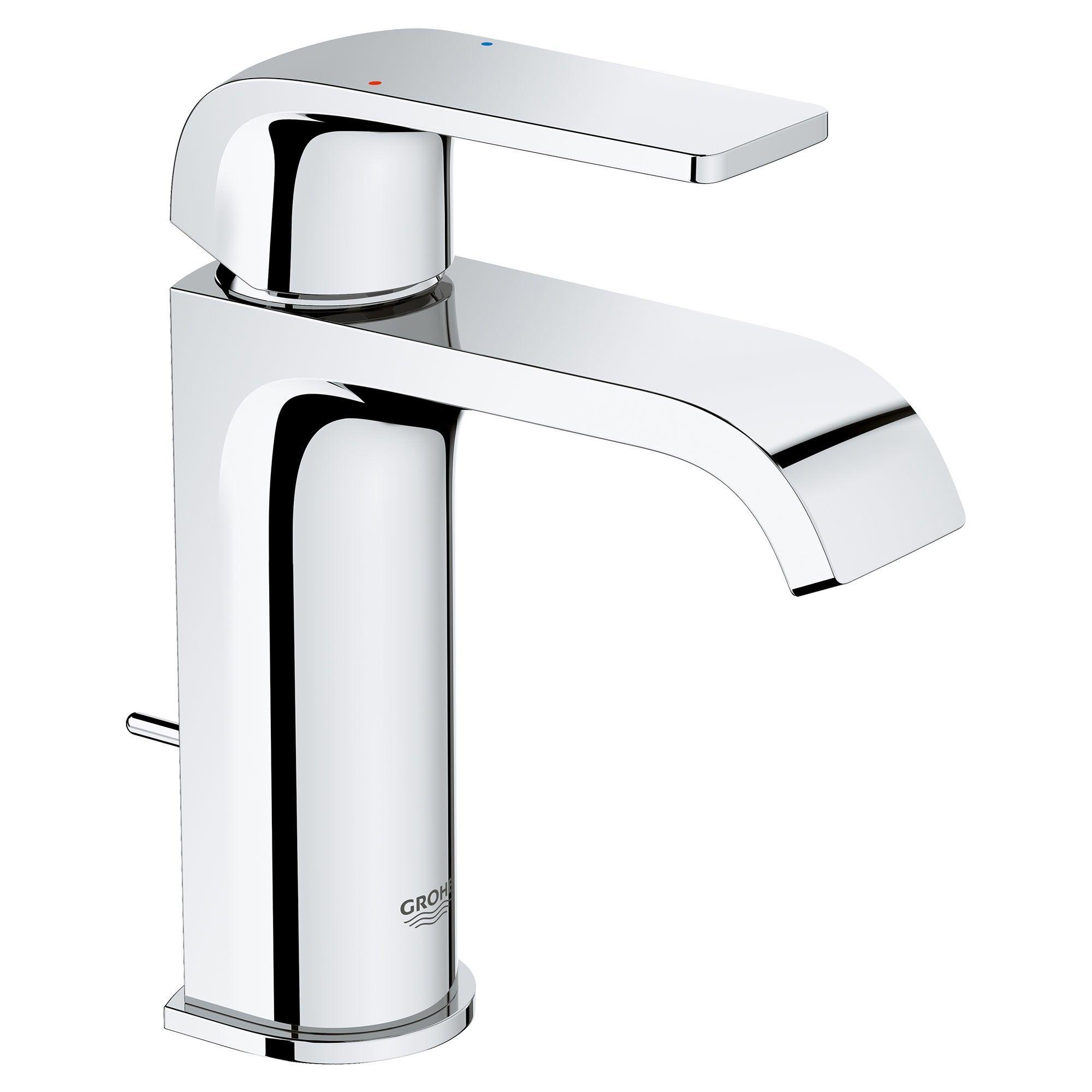 Grohe America Inc 23 868 Defined 1 2 Gpm Single Hole Bathroom Faucet Starlight Chrome Single Hole Bathroom Faucet Faucet Grohe [ 2000 x 2000 Pixel ]