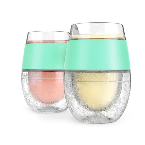 Host Wine Freeze Cooling Cups Mint Set Of 2 True Fabri Https