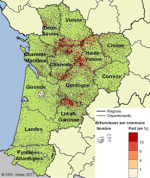 The NouvelleAquitaine region of western and southwest France is