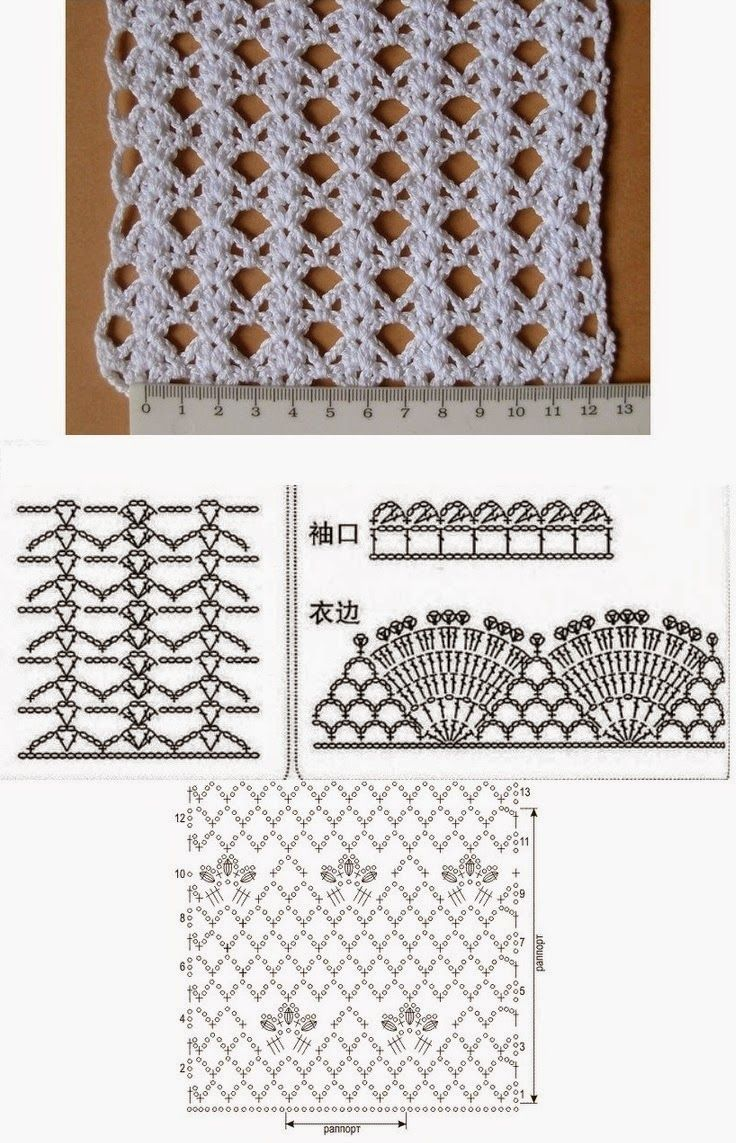 Falda Maxi verano Crochet blanca Patron - Patrones Crochet | vestiti ...