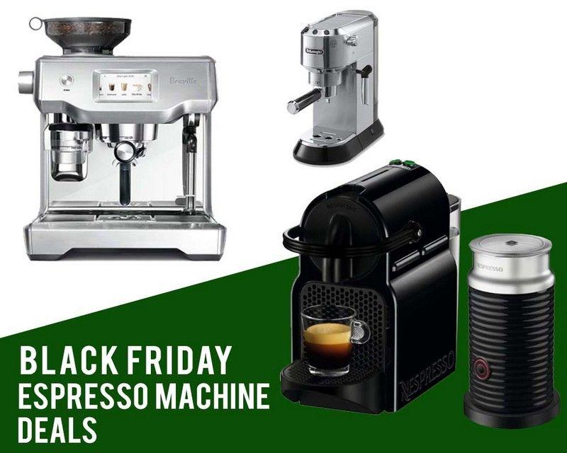 Top 10 Best Black Friday Espresso Machine Deals 2018