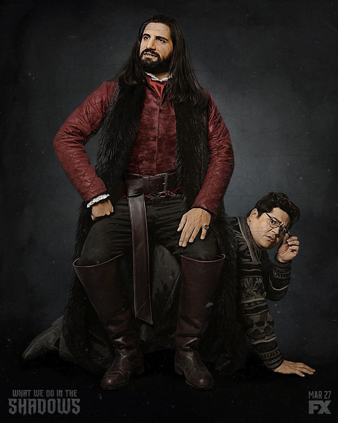 What We Do In The Shadows S1 Cast Promo Photo Vampire