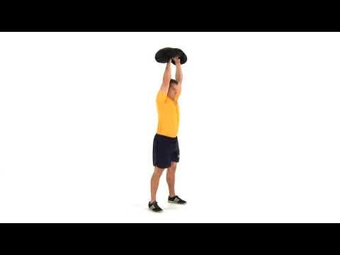 navy fitness  squat to press  sandbag  squats navy