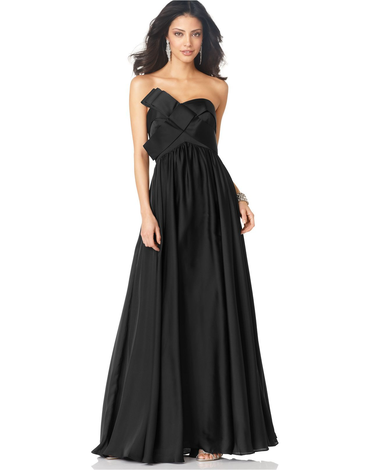 Another formalblack tie event dress i like my style pinterest js collections dress strapless long evening dress womens dresses macys kind of love this just because its the same dress the skinny chick wore on ombrellifo Images