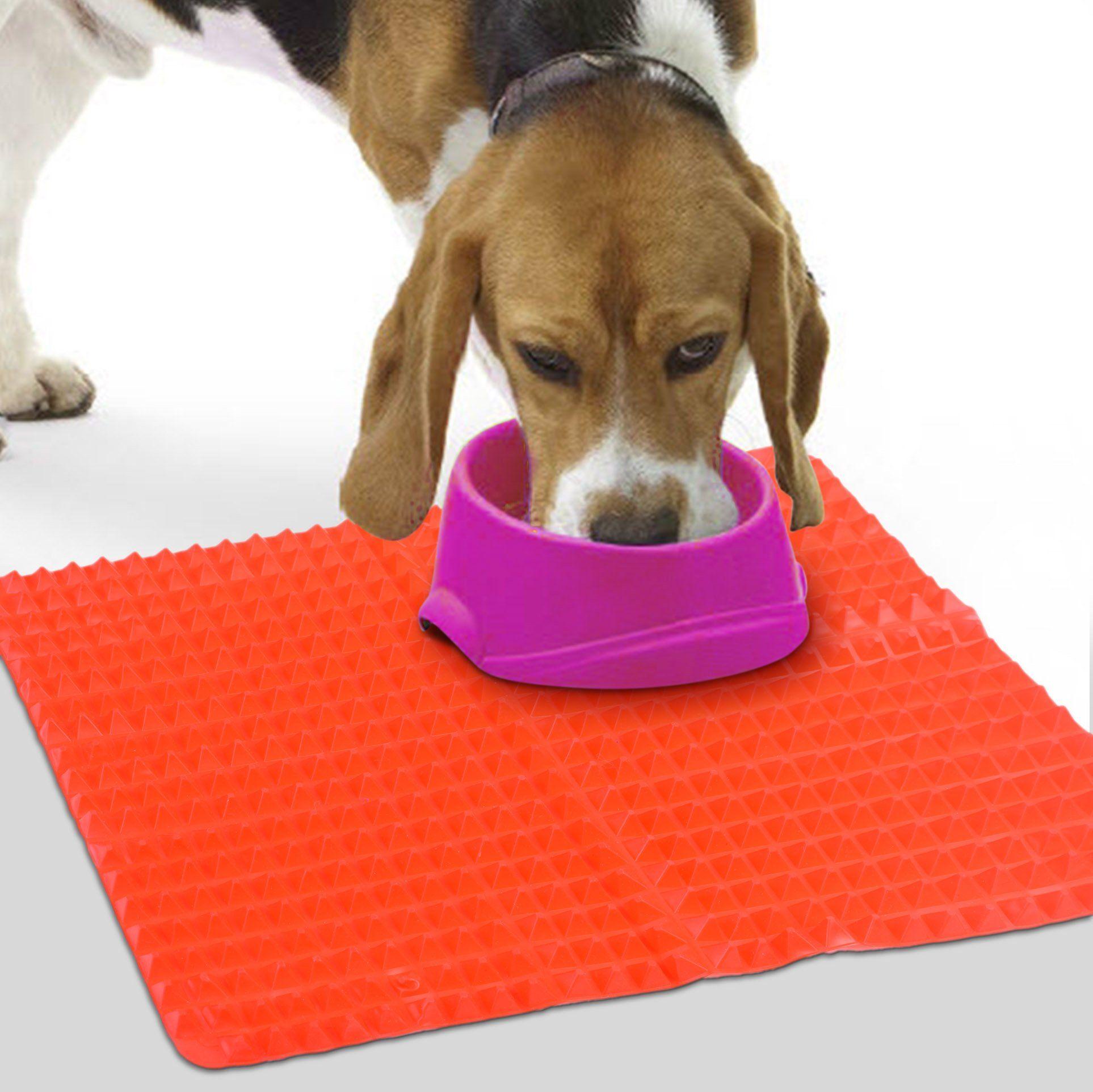 Beautyflier silicone pet feeding mat nonslip dog food