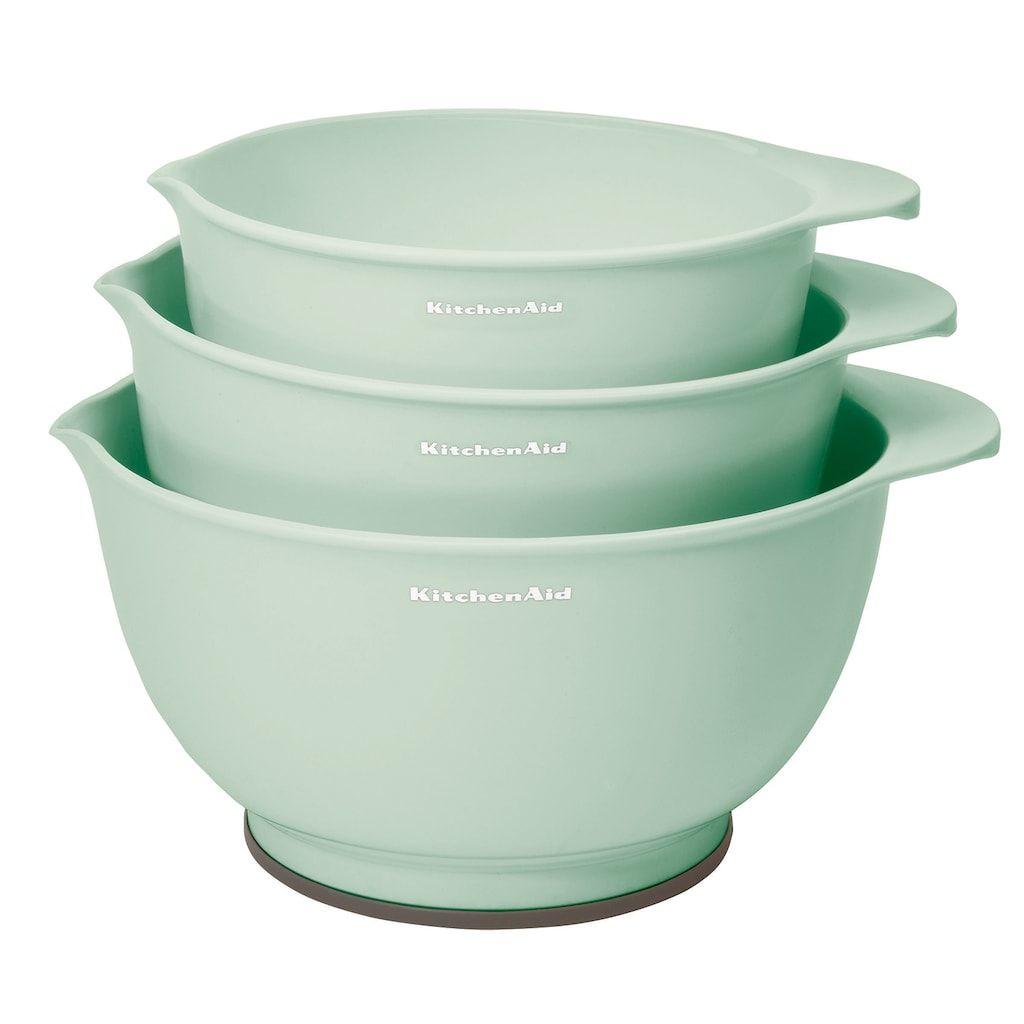 Kitchenaid 3pc mixing bowl set in 2020 mixing bowls