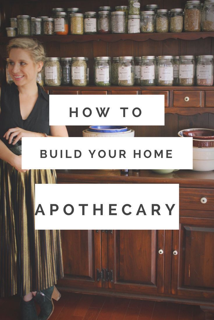 The Herbal Home; How to build your home apothecary - Herbal Home; How to build your home apothecary -