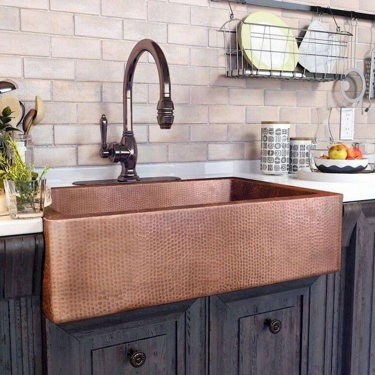 80 Marvelous Farmhouse Kitchen Sink Design Ideas Kitchen Sink Design Farmhouse Chic Kitchen Farmhouse Chic Kitchen Decor