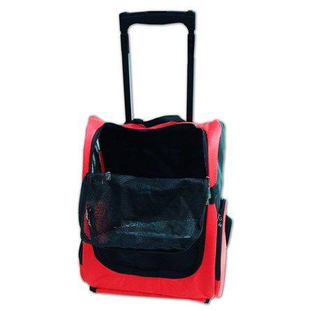 Mochila Transporte C/ Roda - Pethood - A mochila transportadora HappyPets é ideal para o transporte do seu cãozinho não importando a situação.