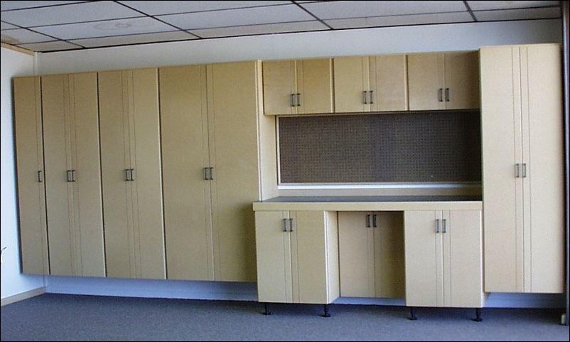 Plywood Garage Cabinet Plans  garage  Garage cabinets