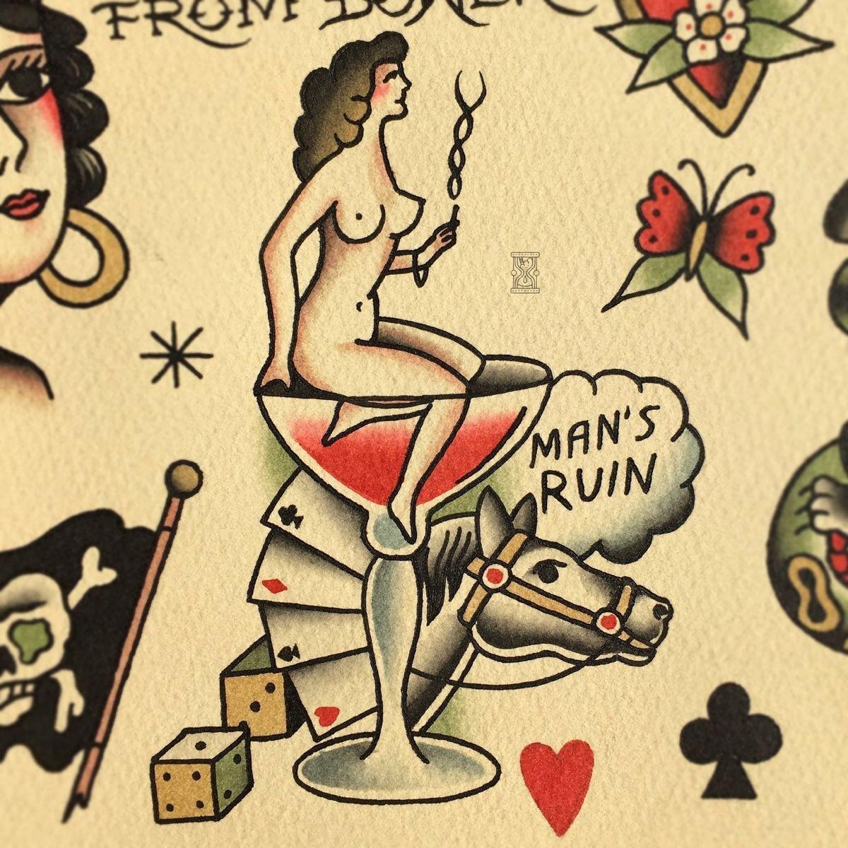 , #girl #girltattoo #sin #sintattoo #bowerytattoo, My Tattoo Blog 2020, My Tattoo Blog 2020