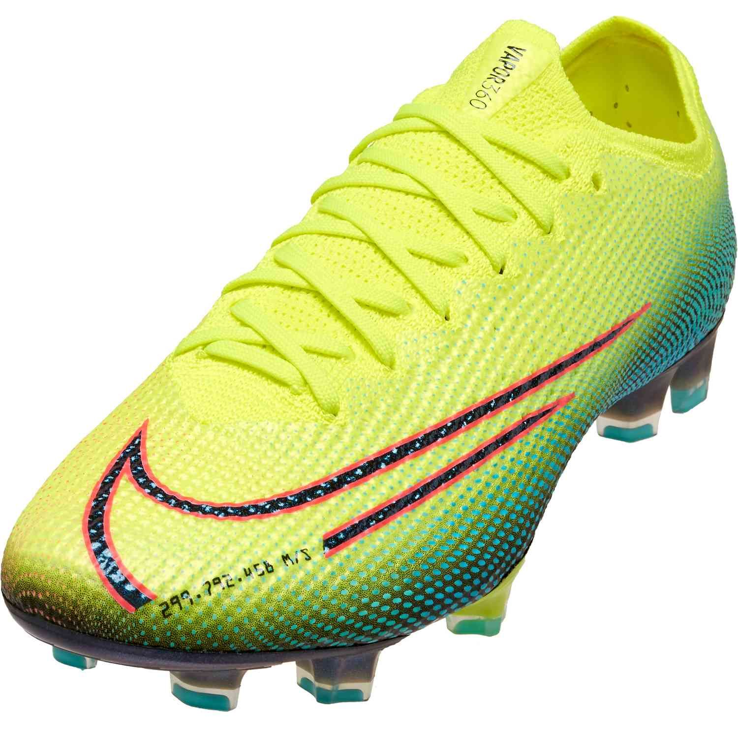 Nike Mds Mercurial Vapor 13 Elite Fg Lemon Venom Soccerpro In 2020 Superfly Soccer Cleats Soccer Cleats Cleats