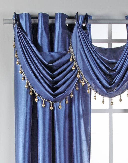 waterfall valance pattern rivington waterfall valance with beaded trim interior decor valance drapery 1247
