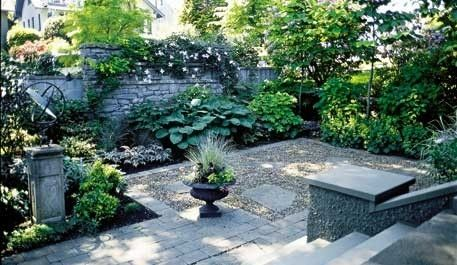Big ideas for a small courtyard garden by estela for the for Small shady courtyard ideas