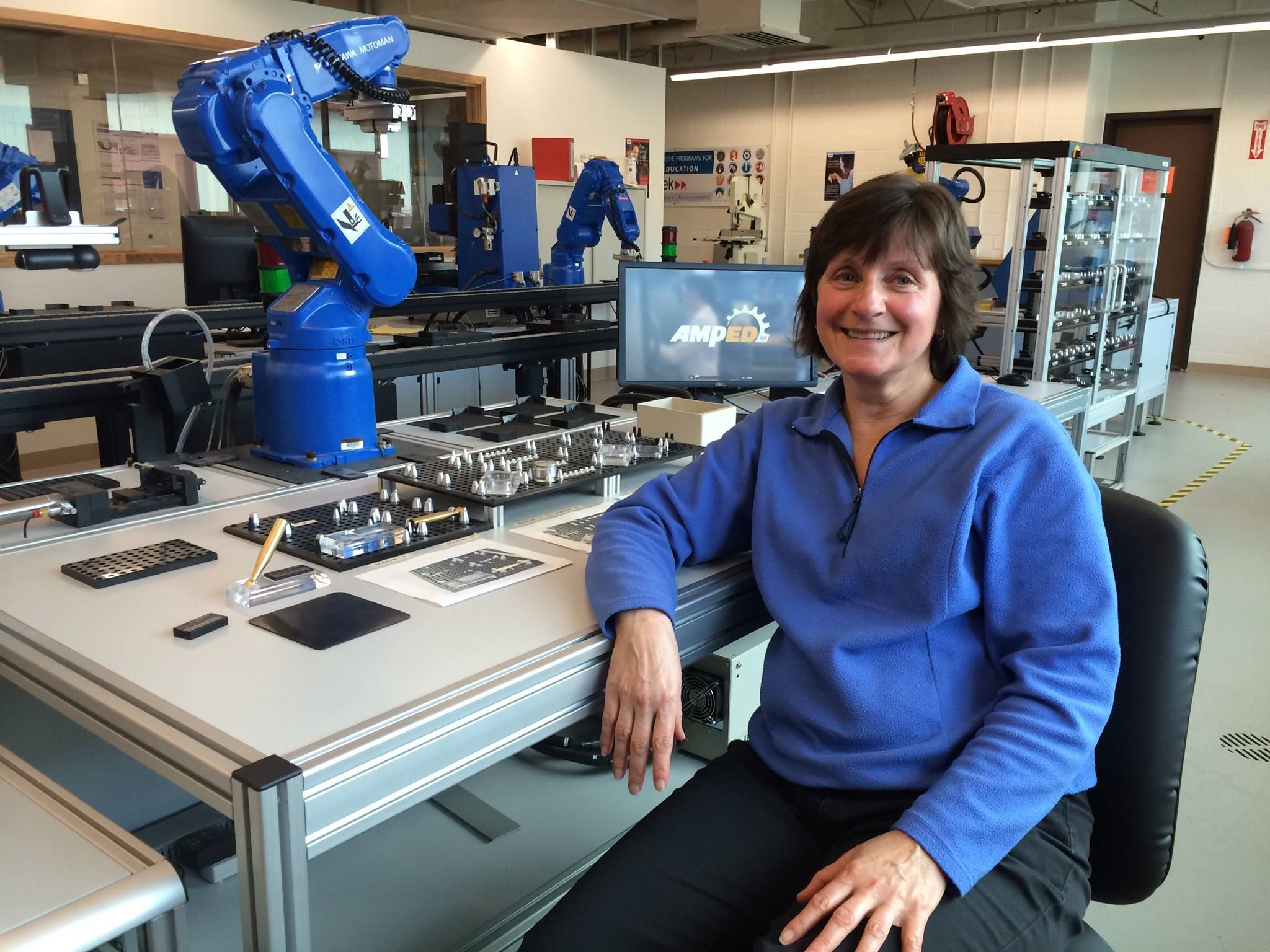 Mcc student karen keating was hired before she even