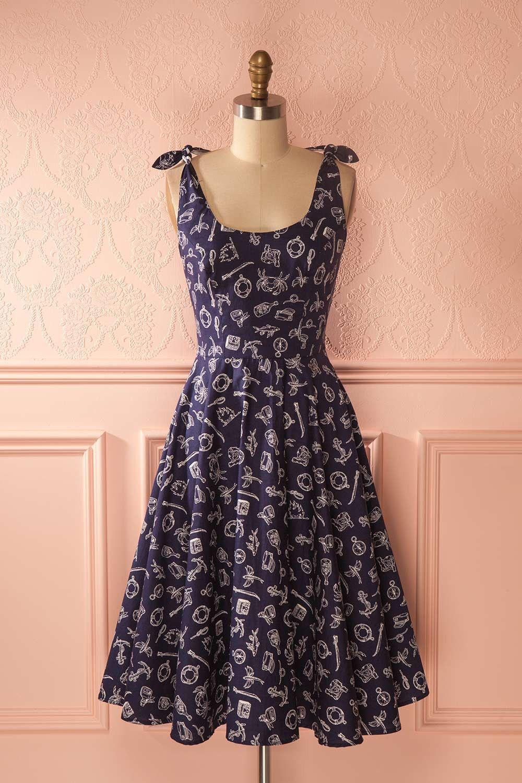 Akiva Marine   Robes   Pinterest   Robe, Vetements et Couture 4337dedb5087