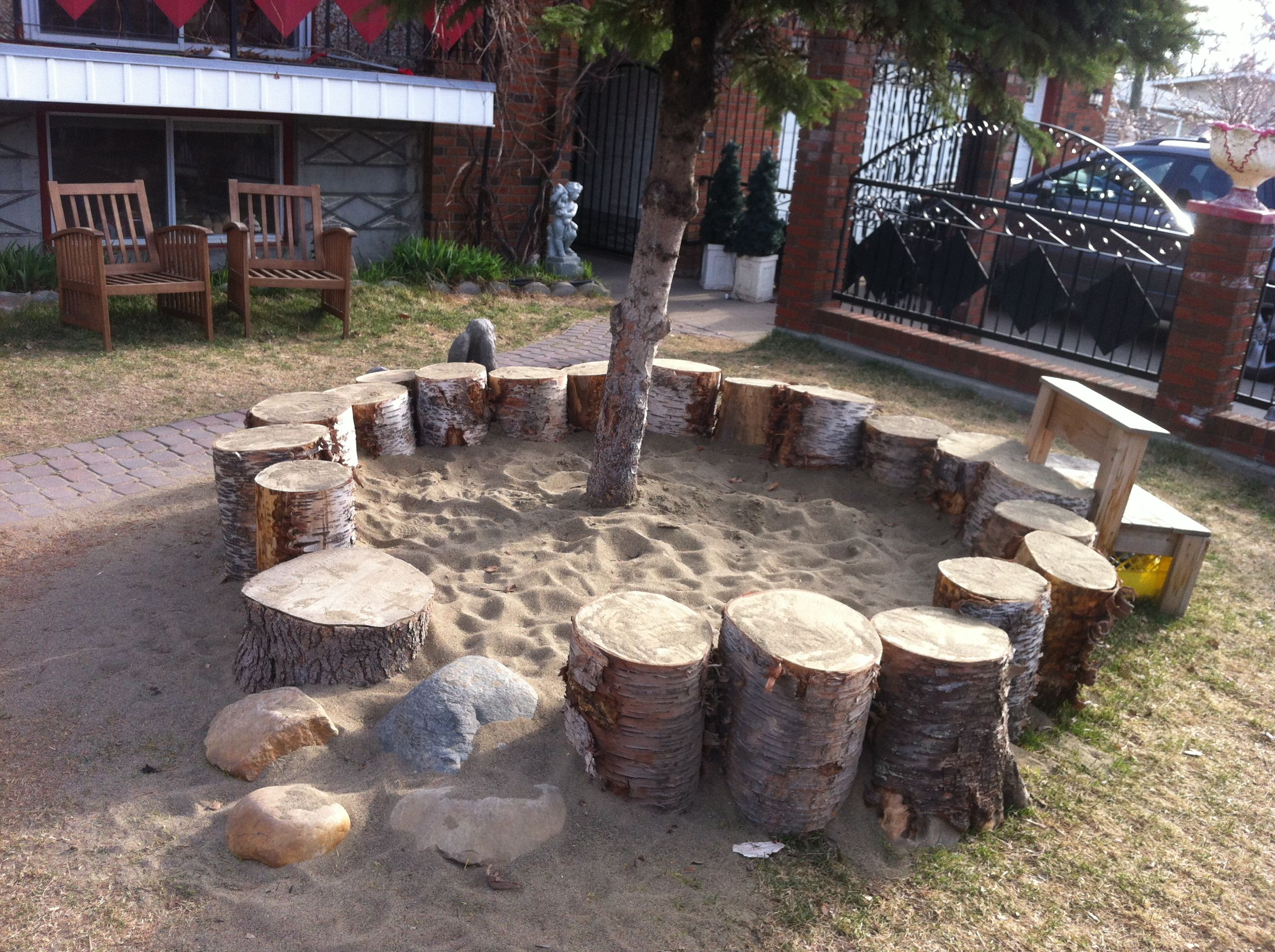sandbox i love this idea for the kids backyard creations