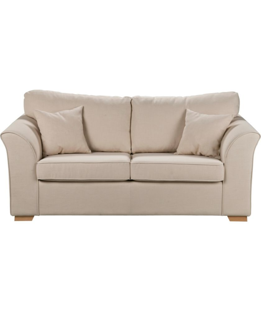 Buy lily fabric metal action sofa bed cream at argos buy lily fabric metal action sofa bed cream at argos parisarafo Images