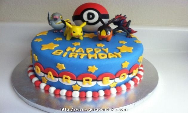 Pokemon Birthday Cake Designs Picture