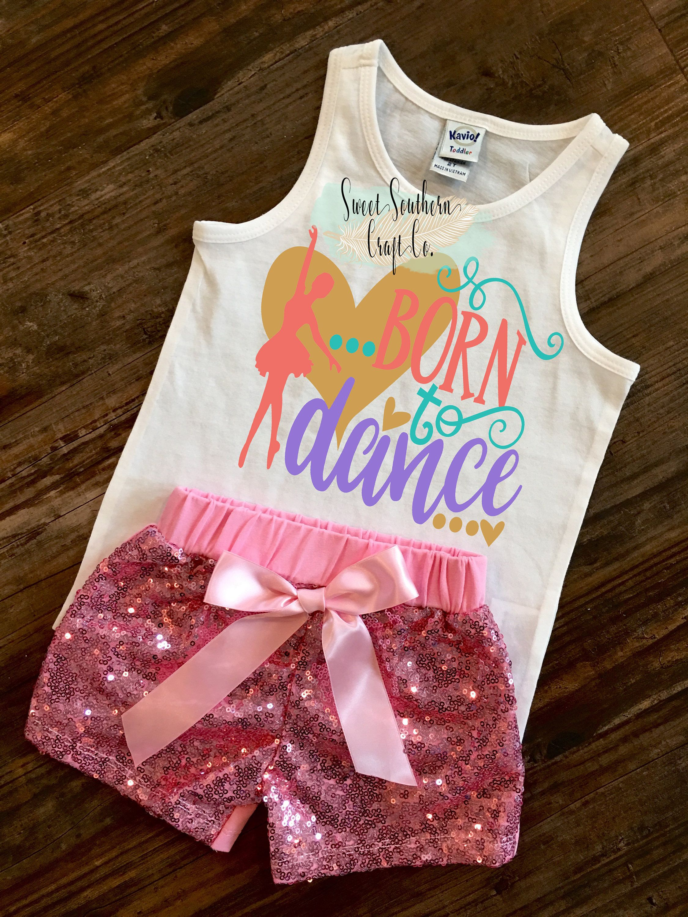 FREE SHIPPING***Born To Dance Toddler Tank Top,Dancer Shirt,Ballet,Jazz,Point,Toddler Racerback,Girl Shirt,Girl Tank,Dance Recital,Dancer by SweetSouthernCraftCo on Etsy