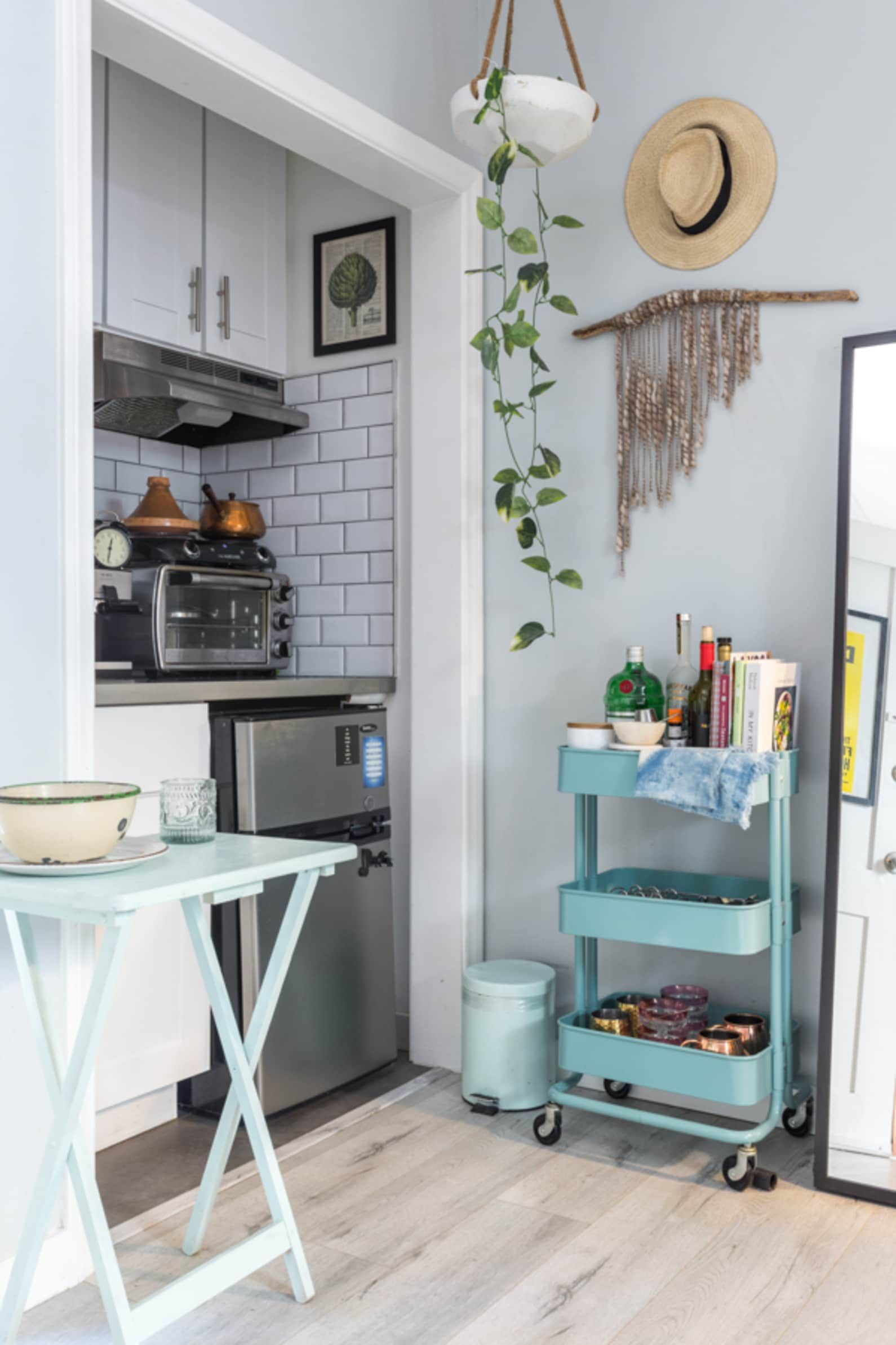 Small Living Room Apartment Therapy: This Teeny 250-Square-Foot L.A. Studio Feels So Much