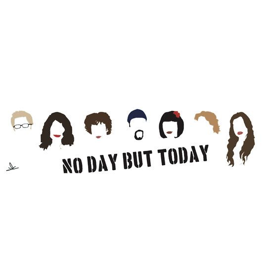 Rent Musical No Day But Today Essential T Shirt By Jadesigns Rent Musical Musicals Today