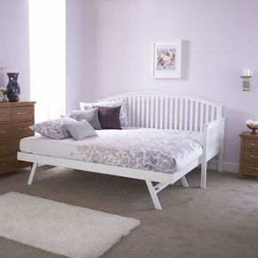 Madrid Wooden Day Bed With Trundle | Next Day - Select Day Delivery