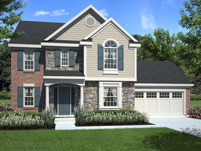 House Plan 065d 0301 House Plans And More Traditional House Plans Painted Brick House Architectural Design House Plans